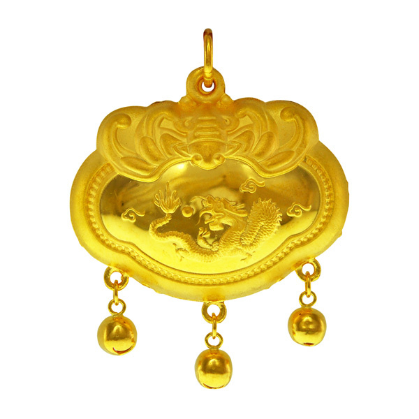 necklace pure chao hong ji pendant monkey hard meng ball gold p