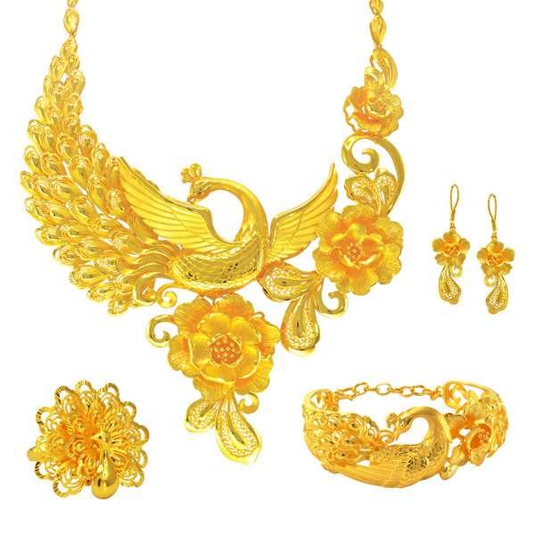 CHINESE WEDDING JEWELLERY COLLECTION Wah Chan Gold