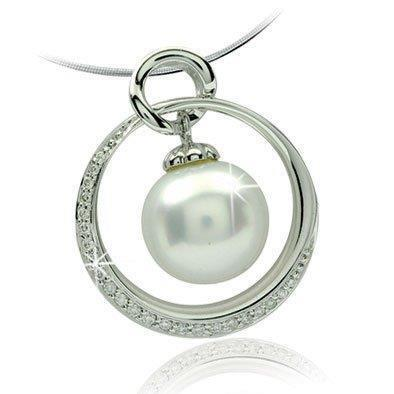 White South Sea Pearl Diamond PendantRM 2,154 nett