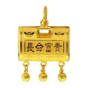 WEALTH & LONGEVITY PENDANT 长命富贵吊咀