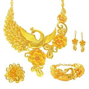 CHINESE WEDDING JEWELLERY COLLECTION 凤舞花开系列