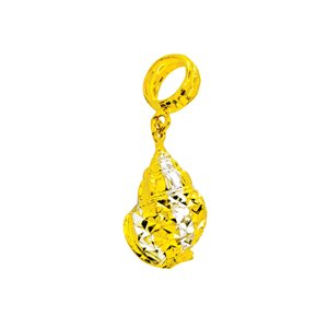 916 GOLD SEA CREATURE CHARM
