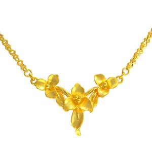BLOSSOM LOVE NECKLACE 幸福花卉项链