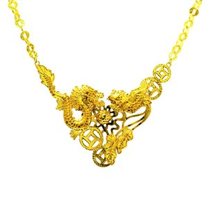 DRAGON & PHOENIX NECKLACE 龙凤呈祥项链