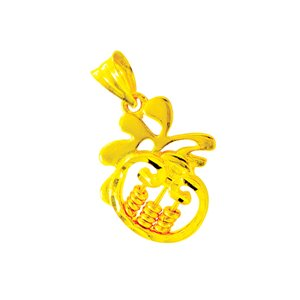 916 GOLD ABACUS CHARM