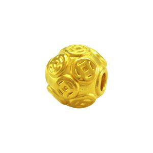 3D 999 PURE GOLD ICON CHARM