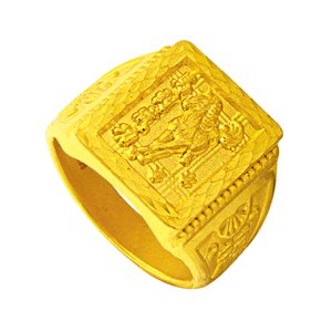 999 PURE GOLD GOLDEN SUCCESS RING